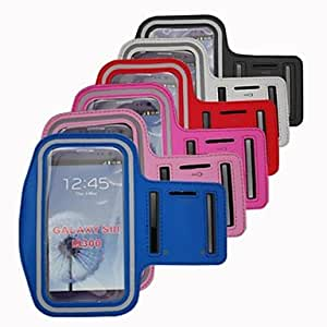 RC - Elonbo S85 Fashion Sport Armband Full Body Case Cover for Samsung Galaxy S3 i9300(Assorted Colors) , Blue