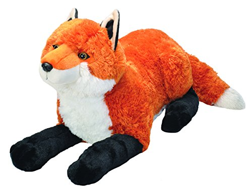 Wild Republic Jumbo Fox Plush, Giant Stuffed Animal, Plush Toy, Gifts for Kids, 30