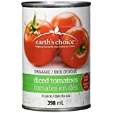 Earth's Choice, Organic Diced Tomatoes, 12 Count of 398ml