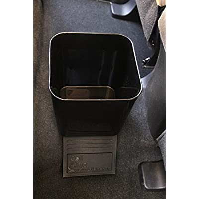 Auto Car Vehicle Garbage Can Trash Bin Waste Container Quality Plastic EXTRA LARGE 1 Gallon 4 Liter, Quality For Life: Automotive