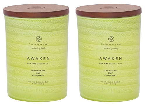 Chesapeake Bay Candle Mind & Body Serenity Scented...