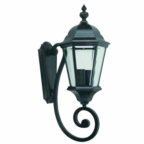 Yosemite Home Decor 5124IBL Brielle 9-Inch Two-Light Exterior Sconce, Black Review