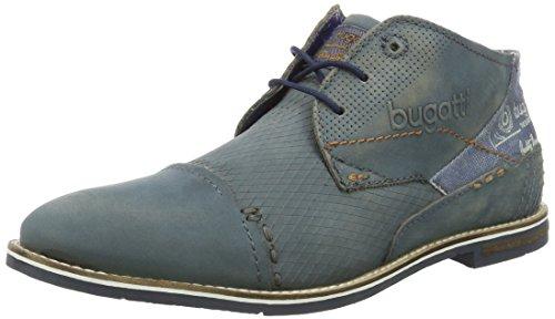 Bugatti 312111051500, Zapatos de Cordones Derby para Hombre Blau (Blau 4000)