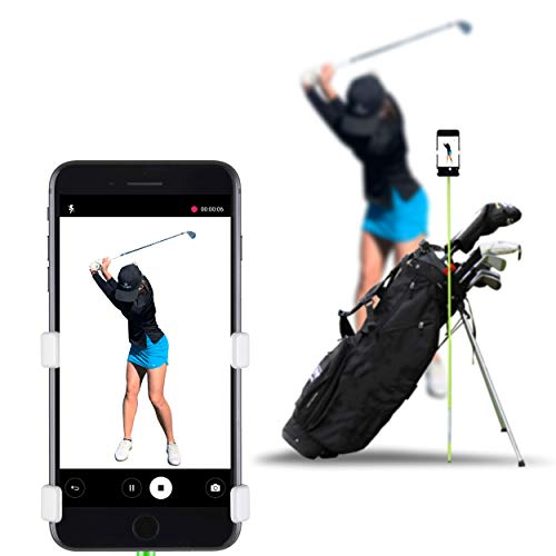 SelfieGOLF Record Golf Swing - Cell Phone Holder Golf Analyzer Accessories | Winner of The PGA Best Product