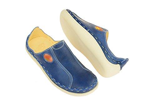 5846 Loafer 1 Mate Blå Leiligheter Menn 002 Iawaq5F