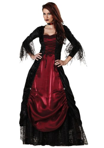 InCharacter Costumes Women's Gothic Vampiress Costume - Size Medium ()
