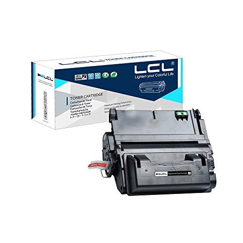 (LCL Compatible Toner Cartridge Replacement for HP 42A 42X Q5942A Q5942X Q1339A Q5945A 20000 Page 4200 4300 4250 4350 4345 (Black 1-Pack))