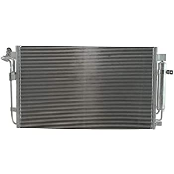 AC Condenser A//C Air Conditioning with Receiver Drier for 13-15 Nissan Sentra