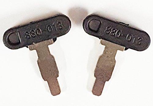 Keyman pair 2 keys keyman honda generator key ignition for Honda replacement key cost