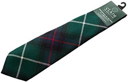 Clans Of Scotland Men's Scottish Tartan Clan Tie