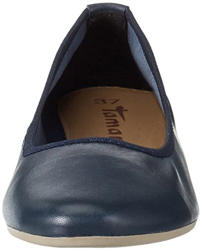 Tamaris 22128, Bailarinas para Mujer Azul (NAVY 805)