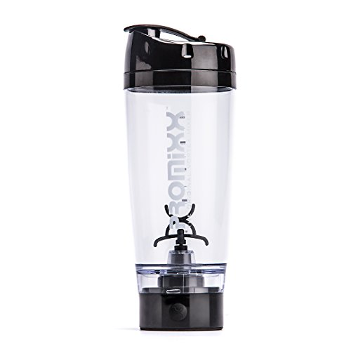 PROMiXX (2018 Model) - The Original Vortex Mixer | Beautifully Engineered High-Torque Battery-Powered Protein Shaker Bottle with X-Blade Technology | 600ml/20oz (Black) by Promixx (Image #7)