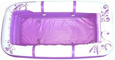 XLEVE インフレータブルバスタブ、肥厚大人バスタブ、折りたたみバスタブバスタブ、プラスチックタブ