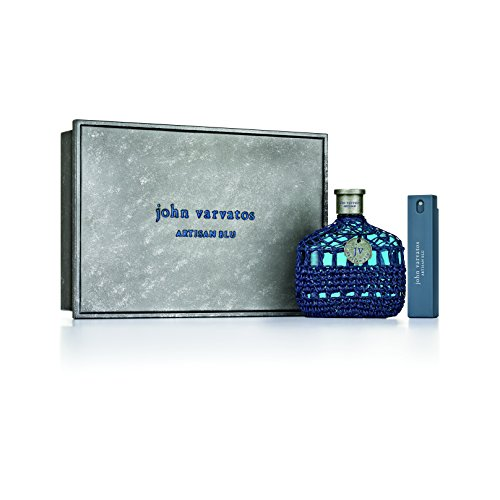John Varvatos Artisan Blu Eau de Toilette Spray, 2 piece gift set (John Varvatos By John Varvatos Cologne Review)