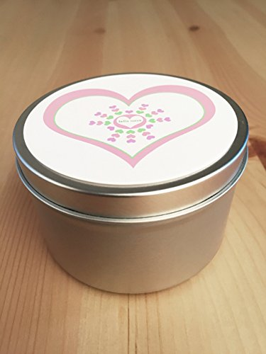All Natural Lavender Candle Travel Tin 8oz Gift Wrapped