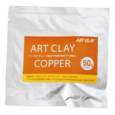 torch firing copper clay