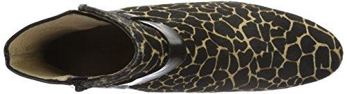 TAPODTS Damen Javodka 1.2 Kurzschaft Stiefel Mehrfarbig (giraffe/black)