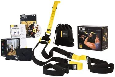 Trx Pro Pack P2 Force Kit Fitness Muelle Nuevo sottocosto Completo con Guía Gancho Puerta DVD