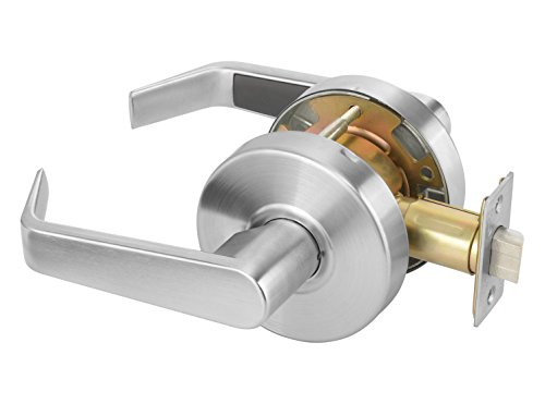 Yale AU4601LN x 626 Cylindrical Lockset, Grade 2, Passage Function, Non-Locking, 2 3/4