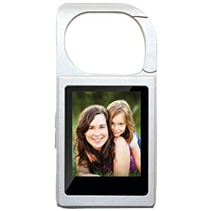 Eclipse MTEREPLAYS Mobile Elec 4 GB Video MP3 Player Keychain - Silver