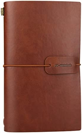 Vintage Leather Notebook Refillable Journals product image