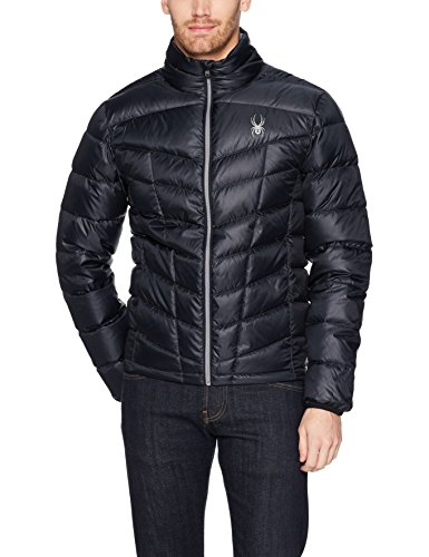Spyder Pelmo Down Jacket, Black, Large from Spyder