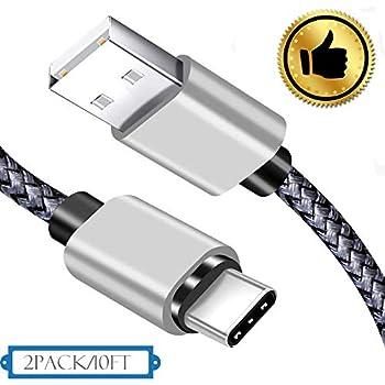Amazon.com: Cable de carga USB C de 9.8 ft, unisame de alta ...