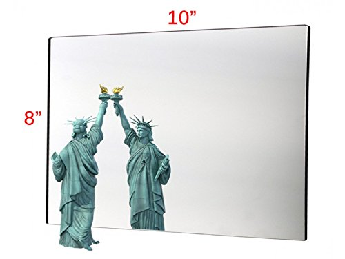Marketing Holders 8'' x 10'' Acrylic Mirror Sheet Great for Classroom Camping Fun House (Pack of 1) by Marketing Holders