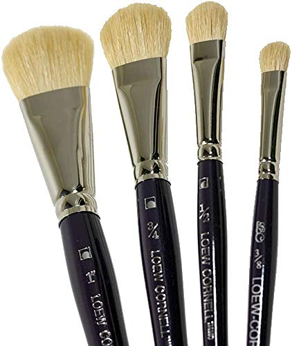 Maxine's Oval Mop 4 Piece Brush Set - Oval Mop Brushes