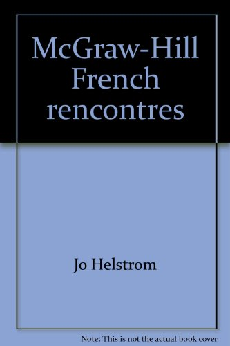0070281319 - Jo Helstrom: McGraw-Hill French rencontres - Livre