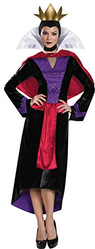UHC Women's Disney Snow White Evil Queen Deluxe Fancy Dress Halloween Costume, Plus (Evil Queen Costume Plus Size)