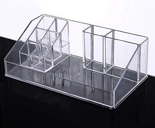 XWYSSH主催 化粧品収納ボックスプラスチックのクリアをクリア引き出しは、リップスティックホルダー主催リップグロスは、ストレー