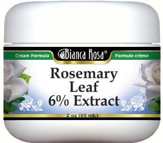 Rosemary Leaf 6% Extract Cream (2 oz, ZIN: 524151)
