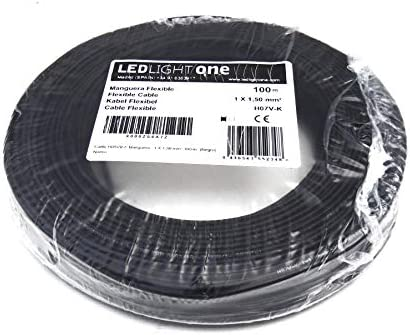 Cable el/éctrico unipolar N07/ V-K Cable 1/ x 25/ mm/² aislado con PVC bobina de 50/ metros color azul flexible