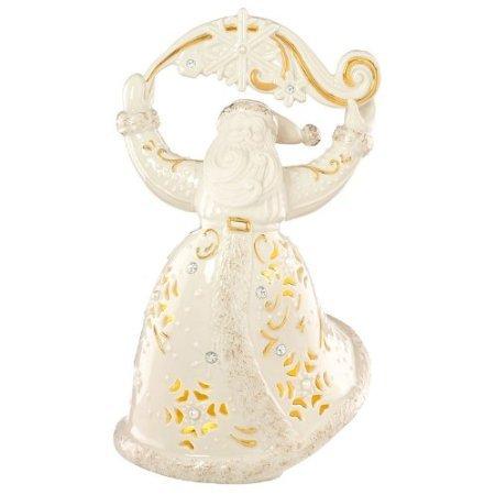 Santa Musical Nutcracker - Florentine & Pearl Christmas Santa Figurine by Lenox