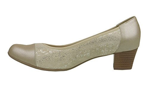 Comfortabel Col Donna Pumps Damen Beige Scarpe Tacco raHqrxPA