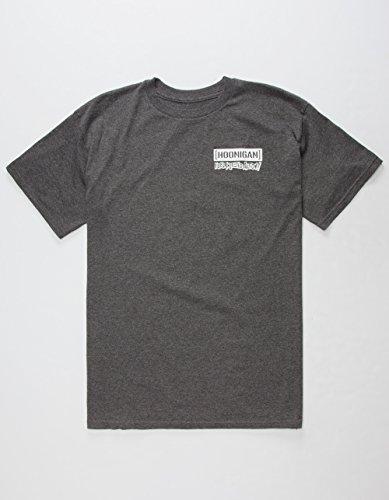 Hoonigan T-Shirt Hell On Wheels Grau Grau