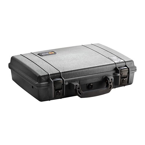 Pelican Products 1470-000-110 1470 HARD CASE BLACK WITH FOAM W/LOCKS 15.62X10.43X3.75 by BigTProducts (Image #1)