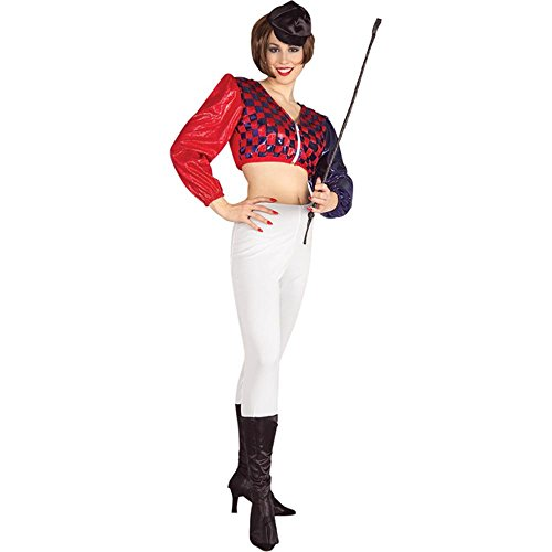 Adult Women's Jockey Halloween Costume -
