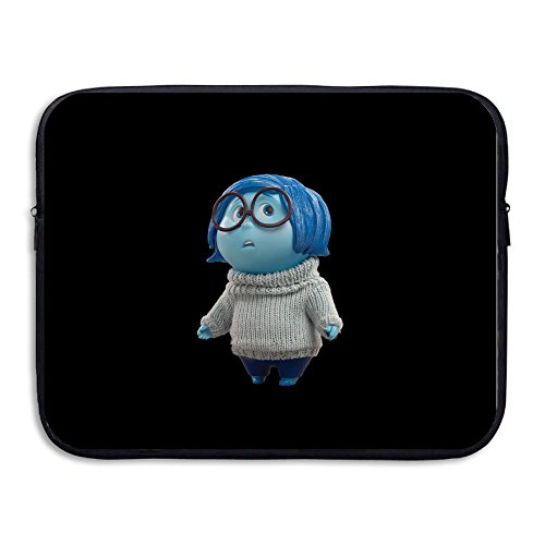 [Custom Inside 2015 Out Sadness Character Waterproof Tablet Zipper Bag Size 13 Inch] (Simple Character Day Costumes)