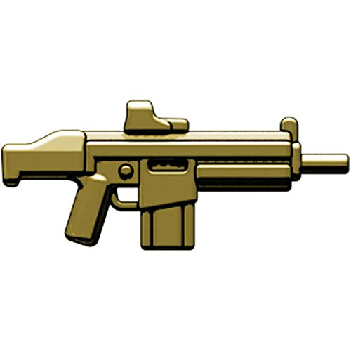BrickArms 2.5 Scale LOOSE Weapon HAC Heavy Assault Carbine Brass