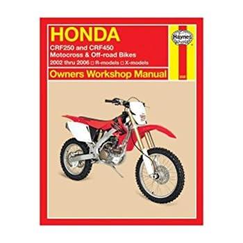 amazon com 86 01 honda cr250 haynes repair manual automotive rh amazon com