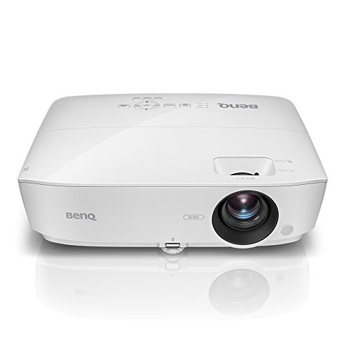 BenQ MS535A 1080p Supported SVGA 3600 Lumens HDMI Vibrant DLP Color Projector for Home and Office