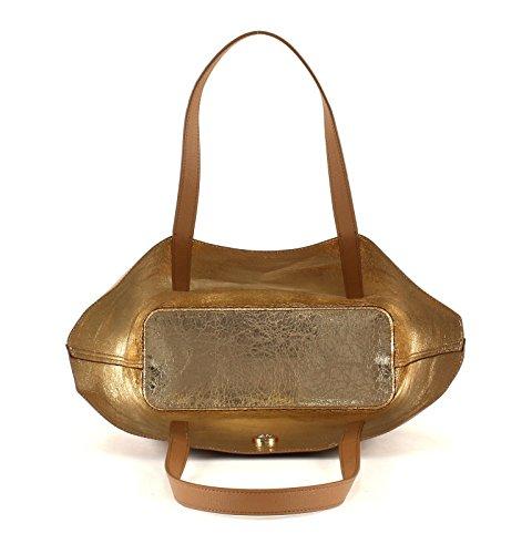 Barato Para Barato 2018 Nueva En Venta Tommy Bag In Bag Metallic - Toasted Coconut/Crushed Gold Comprar Barato En Línea Venta Más Reciente WhsqwziZx3