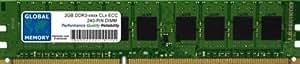 2GB DDR3 800/1066/1333/1600MHz 240-PIN ECC DIMM (UDIMM) MEMORIA RAM PARA SERVIDORES/ESTACIONES DE TRABAJO/PLACA BASE