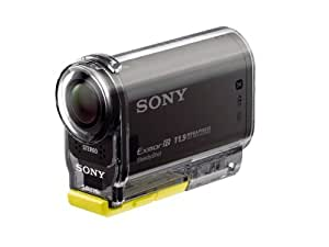 Sony HDR-AS30V Action Cam - Videocámara de 11.9 Mp (estabilizador de imagen, vídeo Full HD 1080p, WiFi, NFC), negro