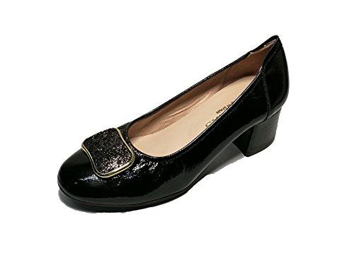 Charol 76002 Shoes Calzature Tai High Sabrinas Negro heeled zXUqn