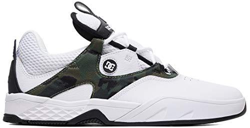 DC Kalis S Skate Shoes Mens Sz 9.5 White Camo