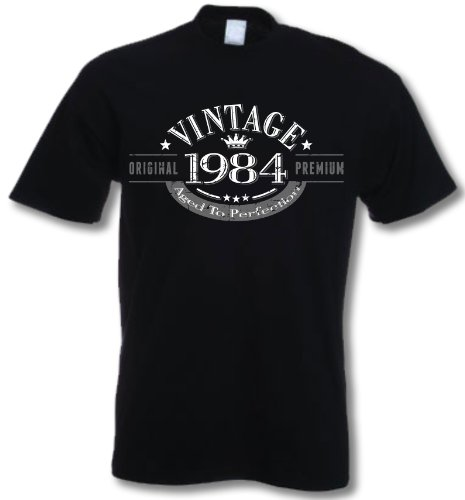 My Generation Gifts 1984 Vintage Year - 32nd Birthday Gift Present T-Shirt Mens