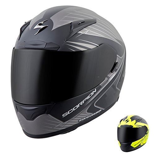 Scorpion Exo EXO-R2000 Ravin Full Face Motorcycle Helmet (Matte Neon, Large)